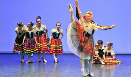 Балет начинается с театра